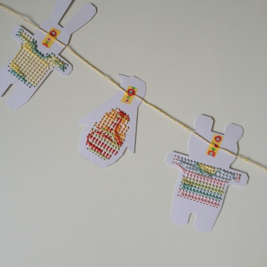 Cartes à broder Rico Design - La Petite Epicerie