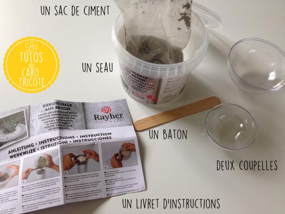 Béton / Ciment créatif
