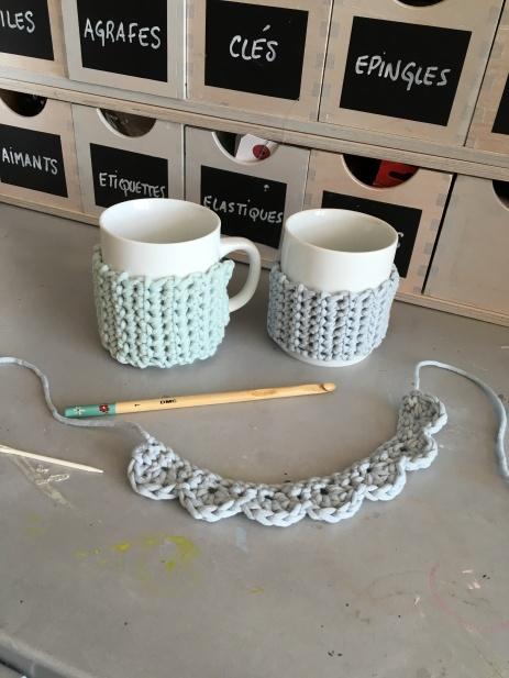 "Col Claudine ""minute"" au crochet"
