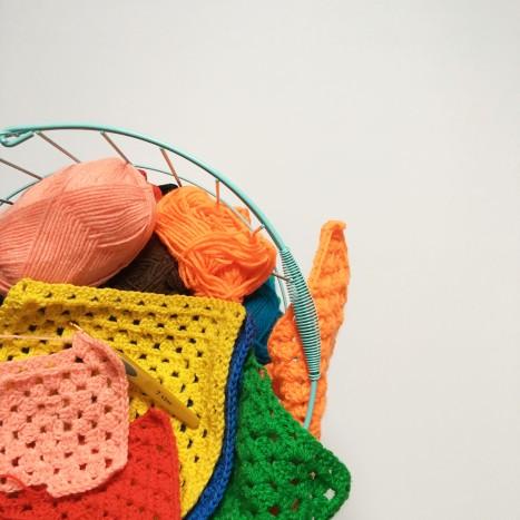 Yarn Bombing - Jardins Mosaïc (Houplin-Ancoisne)