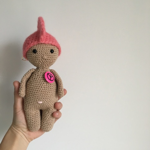 Tuto crochet - Un Petit Dodu Punk is not dead