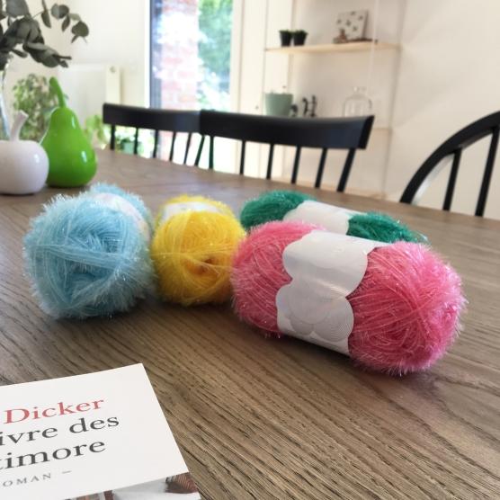Tuto - Crocheter une éponge soleil avec le fil Creative Bubble Rico Design