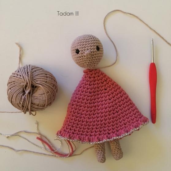 Marinette ma poupée au crochet