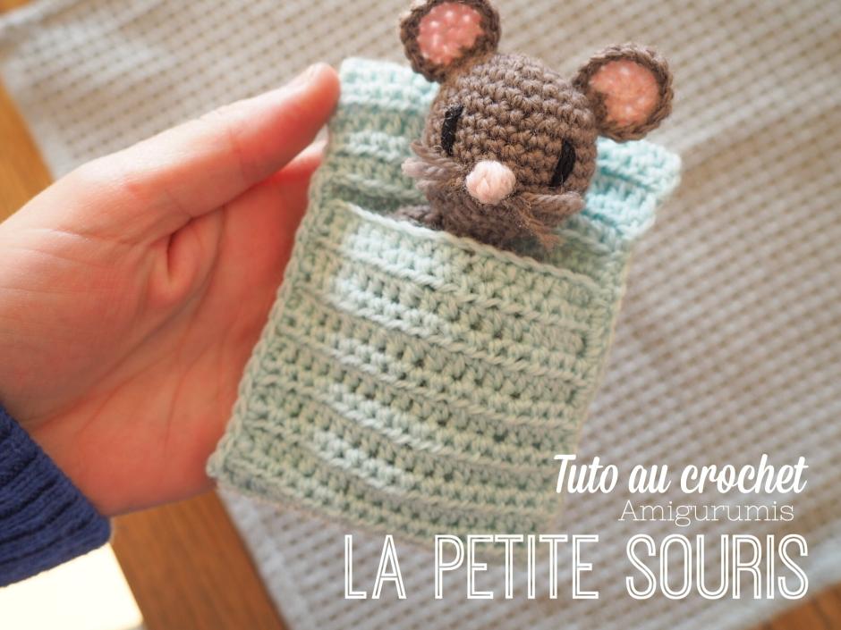 La petite souris - Tuto amigurumi au crochet