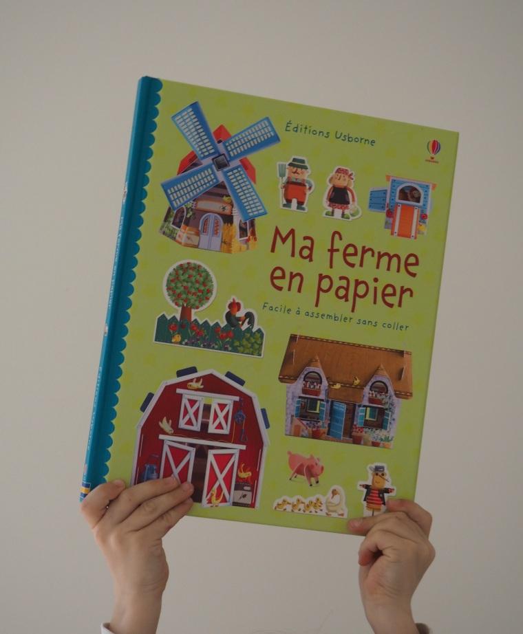 Ma ferme en papier - Editions Usborne